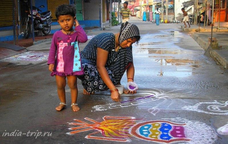 Индия, улица